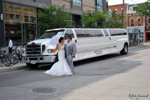 F650 limo wedding 2
