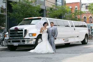 wedding F650 limo